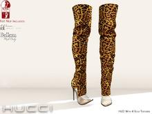 ::HH:: Hucci Itabuna Boots - Leopard Marketplace Promo