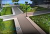 inVerse® MESH - Modular Parkway kit with tree