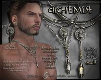⚕Alchemist Necklace -  Mens' Edition