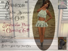 """<SB> """"Breeze"""" Wearable Demo/ Gift Color Outfit"""