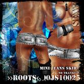 >>ROOTS<<00JS10025 (Mini Jeans Skirt)