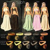 *Sweet Kajira*Subh Collar & Armband Copper 1