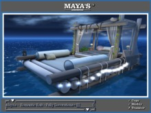 Maya's -  Romantic Raft - Fully Decorations