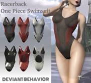 DB - Racerback One Piece Swimsuit
