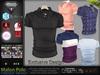 Malon Fatpack Male Mens Polo Shirt Top - Mesh - TMP, Adam, Slink, Signature, AESTHETIC , Belleza Jake - FashionNatic