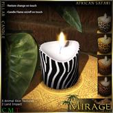 =Mirage= African Safari Candle