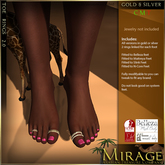 =Mirage= Toe Rings 2.0