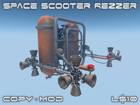 Space Scooter Rezzer