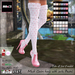 MOoH! Claire heels with socks Pastel (Add)