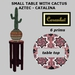 small table with cactus - Aztec Catalina (resize script)