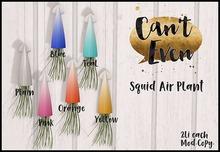 Can't Even - Squid Air Plant (Orange)