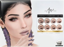 Just Magnetized - Perfect Eyebrows - set 08 for CATWA