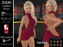 ♥UN:Locked♥ Fashion - Dani Leather Dress - Fat Pack