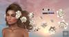 Cazimi: Lotus & Pearl Hair Flowers SALE RACK