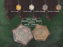 "#VERYRARE ""Benzene"" Diamond Pinky Ring #BENTO [FATPACK] 15% OFF"