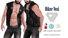 ILLI - [MeshProject,Physique,Signature Gianni,Classic] Biker Vest (HUD Driven) - PROMO