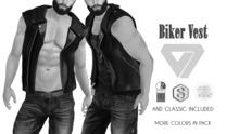 ILLI - [MeshProject,Physique,Signature Gianni,Classic] Biker Vest DEMO