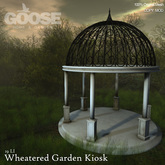 GOOSE - Wheatered garden kiosk