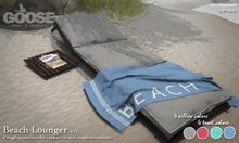 GOOSE - Beach Lounger