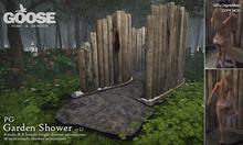 GOOSE - garden shower PG