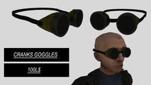 Cranks Goggles Yellow