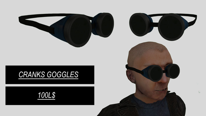 Cranks - Goggles Blue