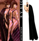 - D I R A M - KHLOE Shoulders Coat - Fur Black