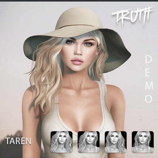 TRUTH Taren (Fitted Mesh Hair) - DEMO