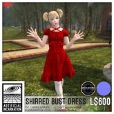 [Ai] Shirred Bust Dress