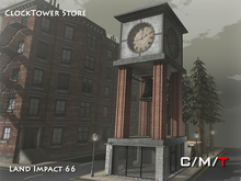 """Killer's"" Animated Clock Tower Store"
