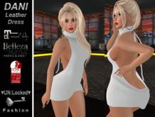 ♥UN:Locked♥ Fashion - Dani Leather Dress (White)