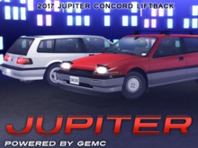JUPITER - Concord Liftback