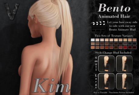 VALLANI. Kim Hair Demo [Bento Animated]