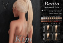 VALLANI. Kim Hair Demo [Bento Animated]