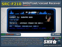 SHX - SHOUTcast board & ICEcast Club Receiver SRC-F210