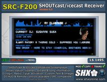 SHX - SHOUTcast board & ICEcast Receiver SRC-F200