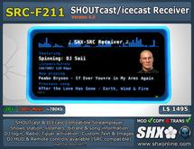 SHX - SHOUTcast board & ICEcast Club Receiver SRC-F211