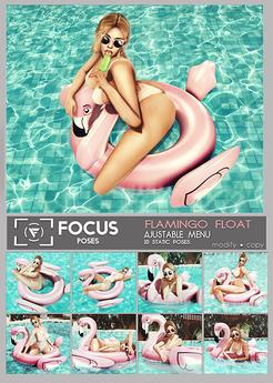 [ Focus Poses ] Flamingo Float