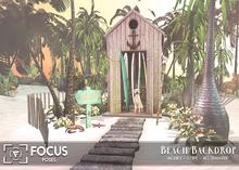 [ Focus Poses ] Beach Backdrop