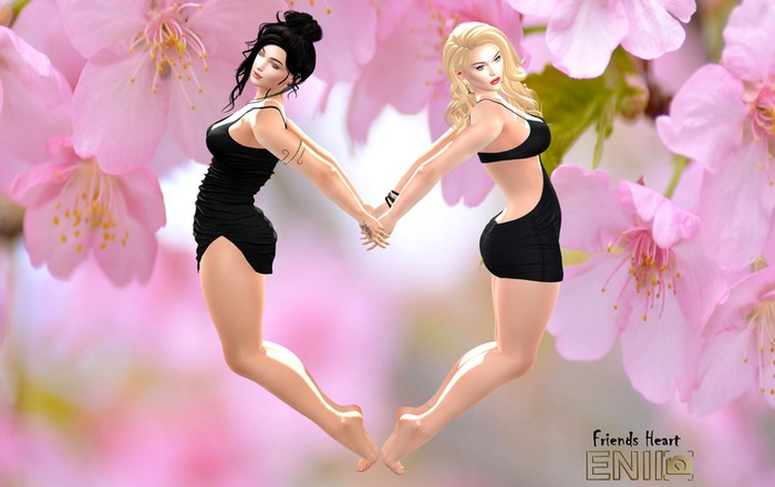 ENIIPose-Friends Heart