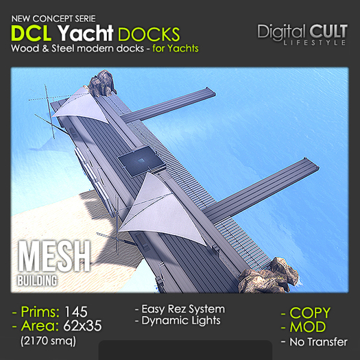 DCL Yacht DOCKS
