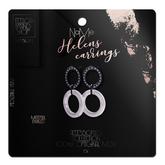 Ec.cloth - Helens Earring - Black Onyx (add it)