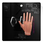 Ec.cloth - Pixie Accessories Set - Silver (add it)