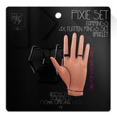 Ec.cloth - Pixie Accessories Set - Black Onyx (add it)