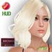 "eDeLsToRe women mesh hair "" Sabine "" incl 24 color HUD sholderlong girl hair"