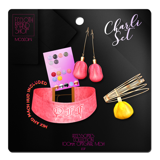 Ec.cloth - Charli Accessories Set (add it)