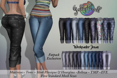 Weekender Jeans Fatpack 20 Texture HUD