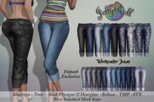 JellyRoll - Weekender Jeans Fatpack (wear to unpack)