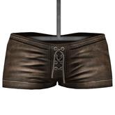 DE Designs - Kira Shorts - Old Leather