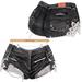 adorsy - Stella Denim Jeans Shorts Black - Maitreya